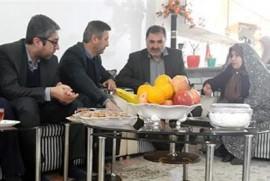 دیدار و دلجویی مدیر کل تعاون مازندران با خانواده دریانورد مازنی نفتکش سانحه دیده