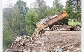 مازندران در محاصره زباله به سختی نفس میکشد!