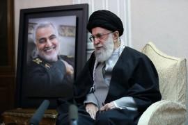 ماجرای یک عکس خاص از سلام نظامی متفاوت سردار سلیمانی به رهبر انقلاب