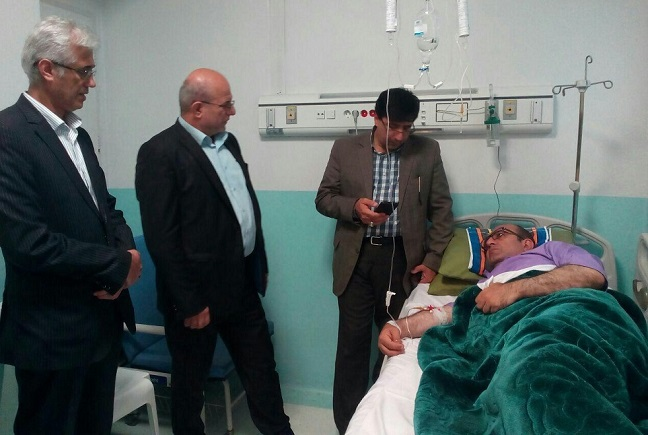 فرماندار بابلسر در بیمارستان بستری شد