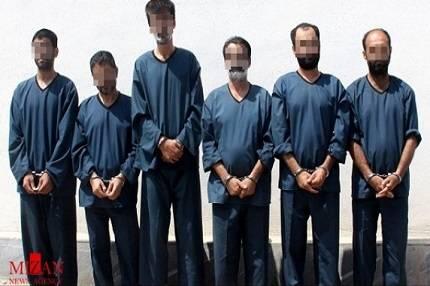 صدور رای پرونده اعضای باند قتلهای سریالی گلستان +عکس