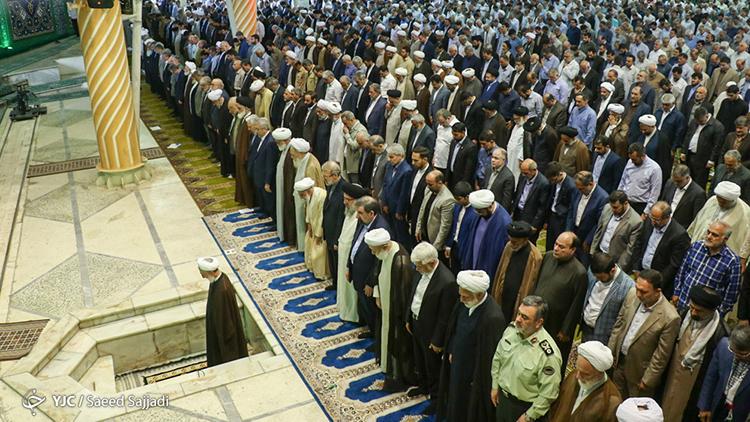 راهپیمایی و  نماز جمعه روز قدس