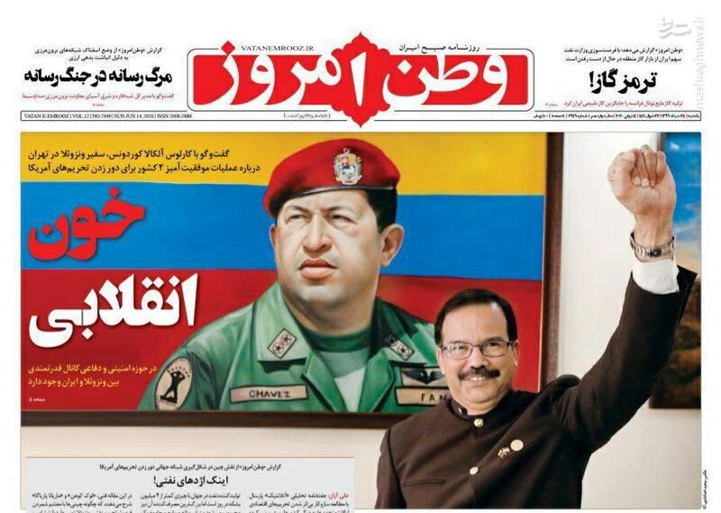 وطن امروز: خون انقلابی