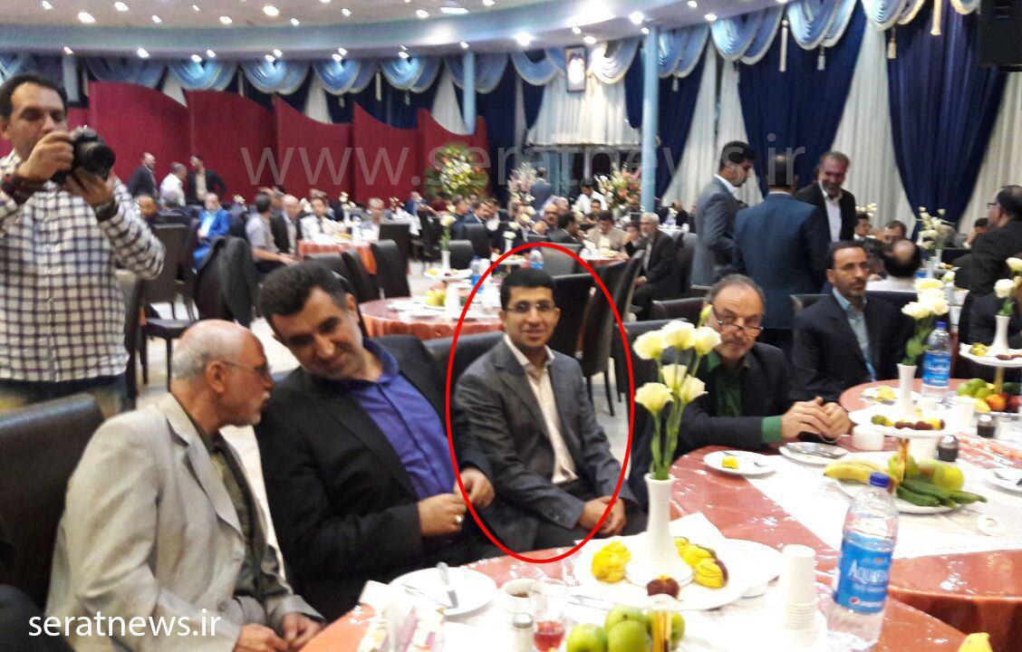 عکس/ پسر احمدینژاد در عروسی دختر مشایی