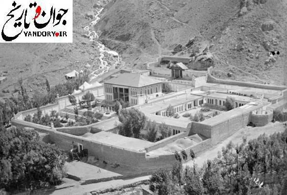 عکس: عمارت ییلاقی ناصرالدین شاه