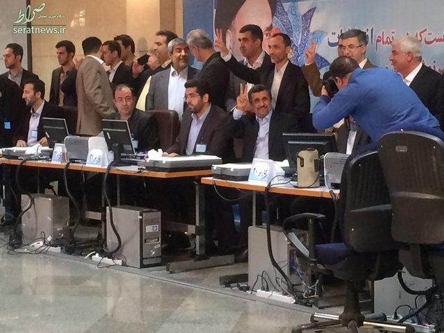 احمدینژاد هم ثبتنام کرد