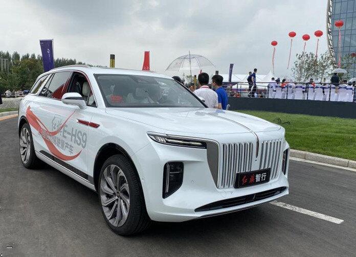 خودروی مدرن چینی / هونگ چی