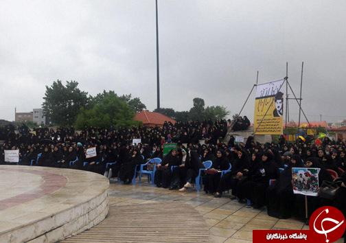 اجتماع 5 هزاری بانوان باحجاب+تصاویر