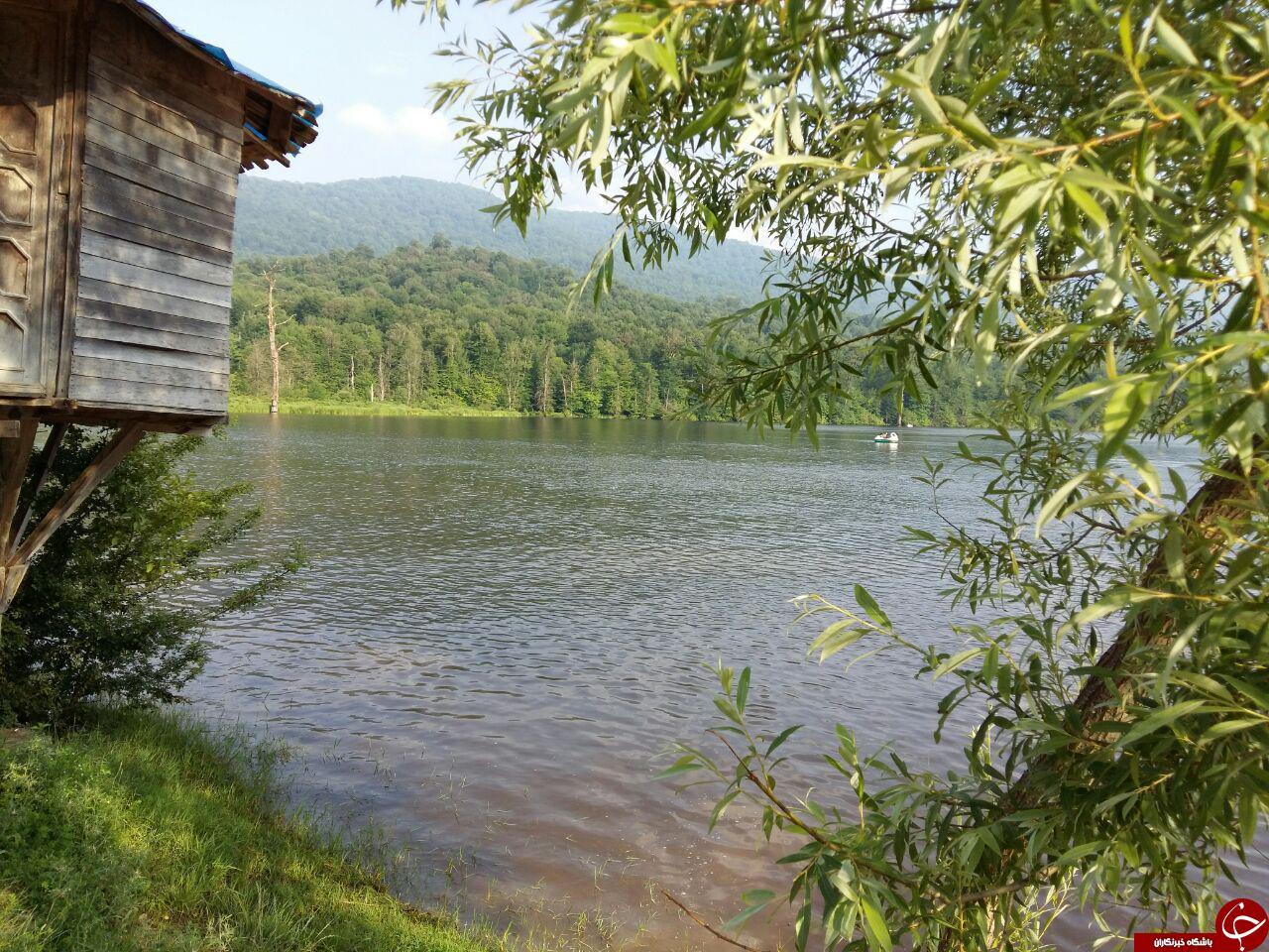 دریاچه ای با زیبایی چهارفصل + تصاویر