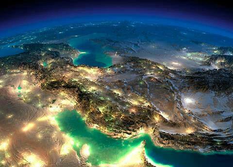 nf00364852 1 عکس زیبای ماهواره ای از وطن مان ایران
