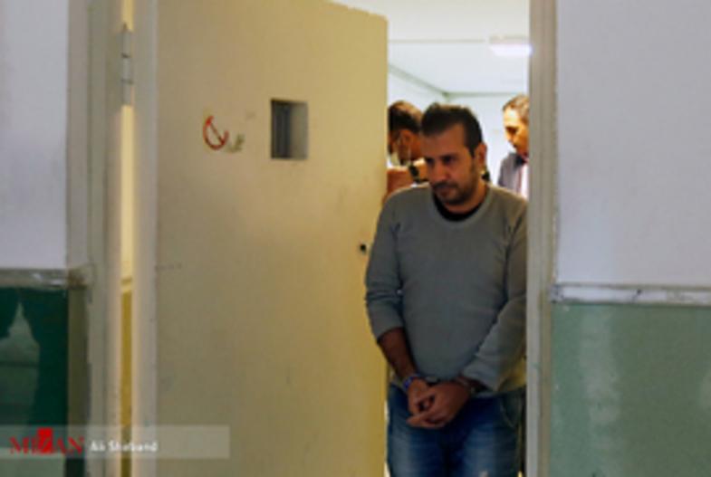 سلطان سکه و همدستش لحظاتی پیش از اعدام +تصاویر