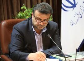 پیام تسلیت استاندار مازندران به مدیرمسئول شمال نیوز